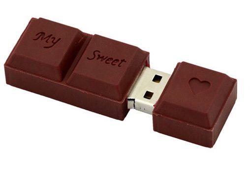 clé usb chocolat